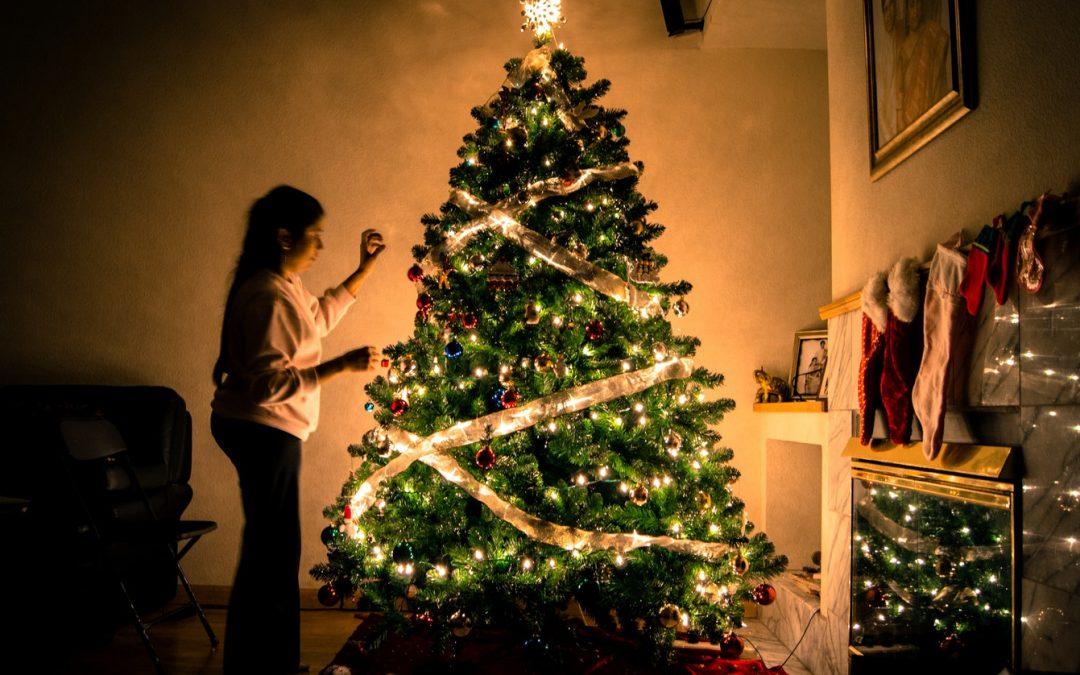Navidad en un piso en Torremolinos